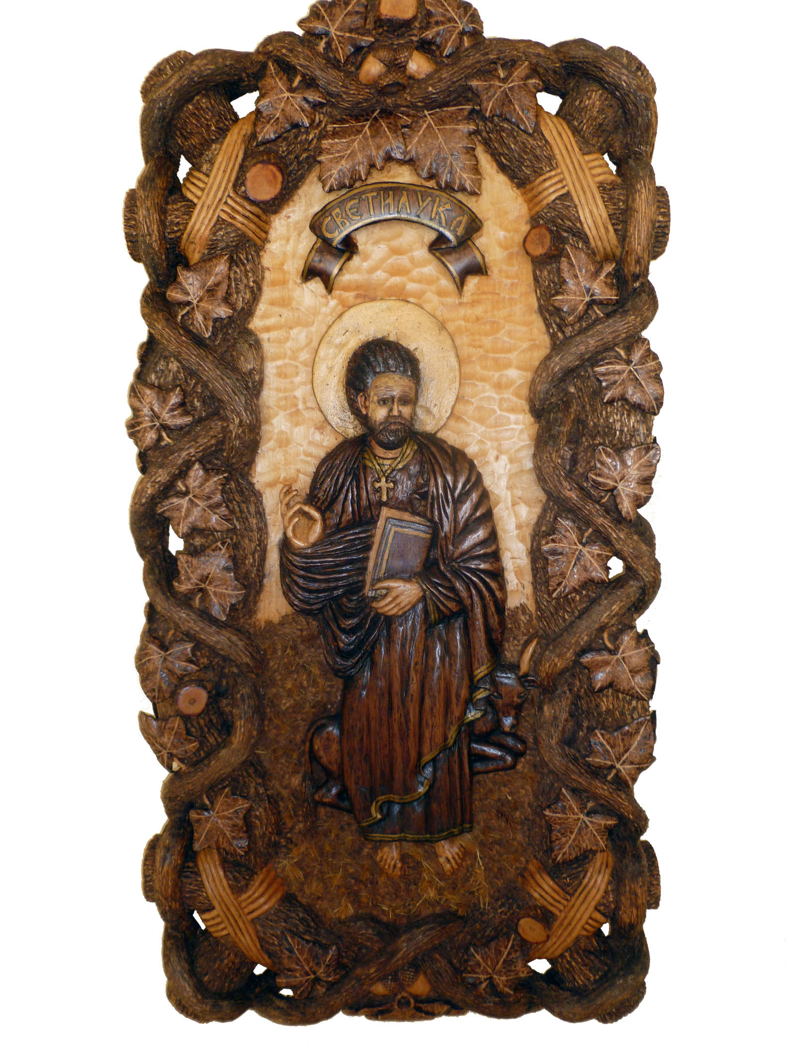 st luca wood carving